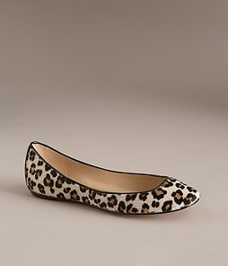 Ann Taylor Perfect haircalf flat