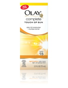 olay touch of sun