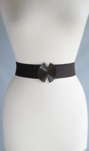 Top Shop Leather Interlocking Belt